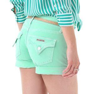 Hudson Croxley mint green Mid thigh short